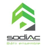 Logo de la SODIAC Société d'économie mixte à La Réunion